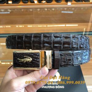 Thắt Lưng Cá Sấu Nối 3.5cm (Mã: 894)