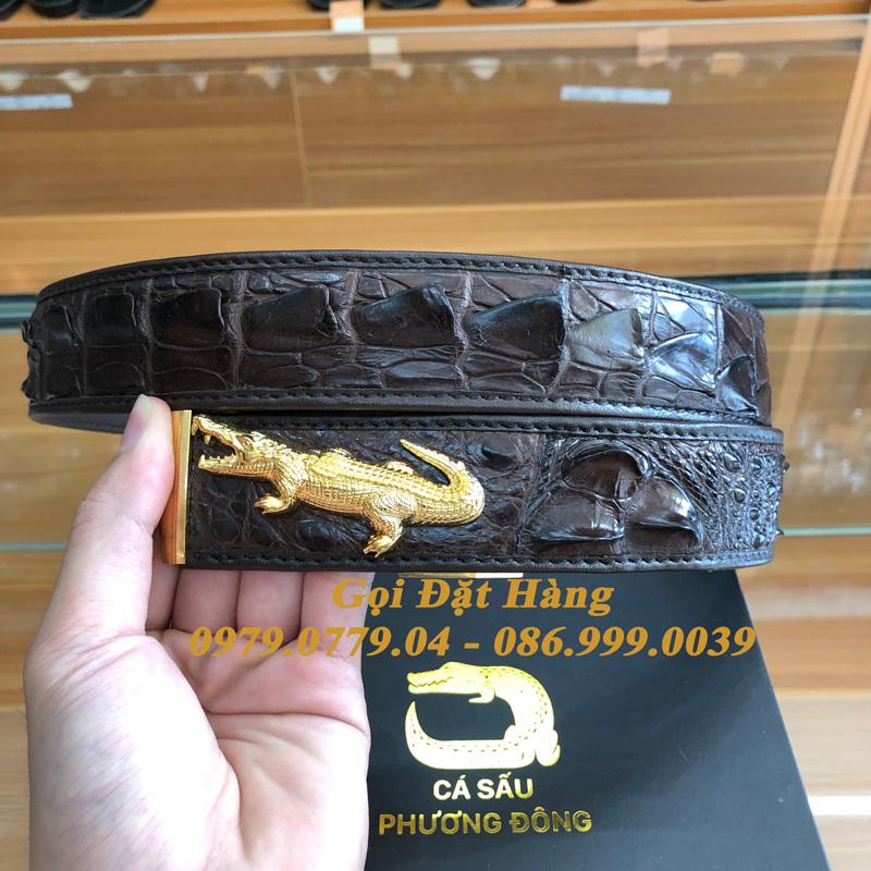 Thắt Lưng Cá Sấu Liền 4cm Đặc Biệt (Mã: 9235)