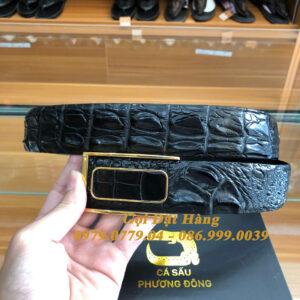 Thắt Lưng Cá Sấu Liền 4cm Đặc Biệt (Mã: 9236)