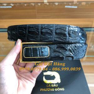 Thắt Lưng Cá Sấu Liền 4cm Đặc Biệt (Mã: 9238)