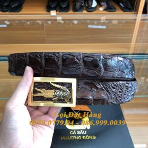 Thắt Lưng Cá Sấu Liền 4cm Đặc Biệt (Mã: 9239)