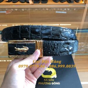 Thắt Lưng Cá Sấu Liền 4cm (Mã: 9251)