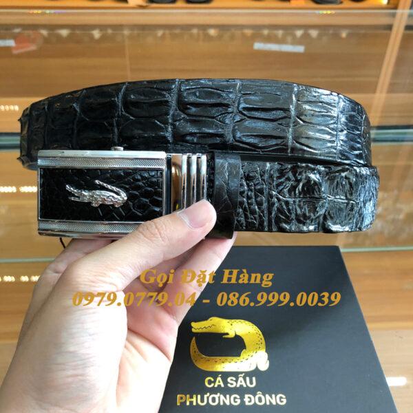 Thắt Lưng Cá Sấu Liền 4cm (Mã: 9252)