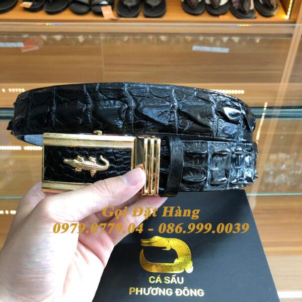Thắt Lưng Cá Sấu Liền 4cm (Mã: 9256)