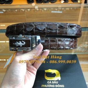 Thắt Lưng Cá Sấu Liền 3.5cm (Mã: L0126)