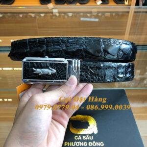 Thắt Lưng Cá Sấu Liền 3.5cm (Mã: L0127)