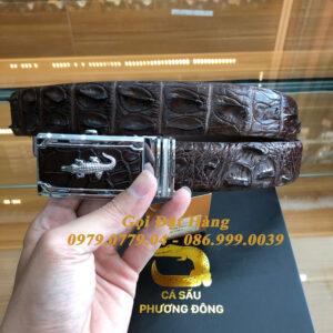 Thắt Lưng Cá Sấu Liền 3.5cm (Mã: L0132)
