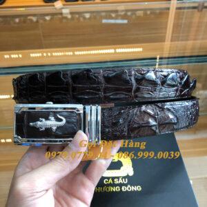 Thắt Lưng Cá Sấu Liền 3.5cm (Mã: L0134)