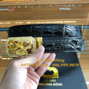 Thắt Lưng Cá Sấu Liền 3.5cm (Mã: L0136)