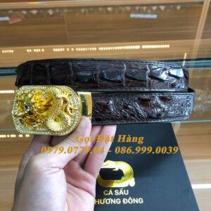 Thắt Lưng Cá Sấu Liền 3.5cm (Mã: L0138)