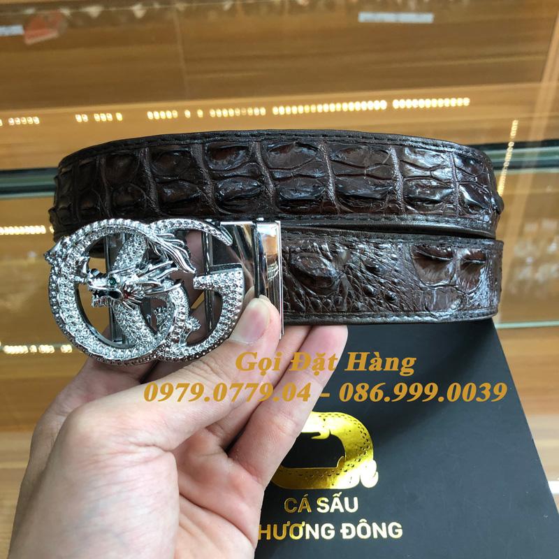Thắt Lưng Cá Sấu Liền 3.5cm (Mã: L0142)