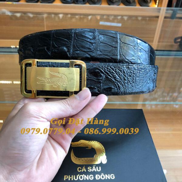 Thắt Lưng Cá Sấu Liền 4cm Đặc Biệt (Mã: 9261)