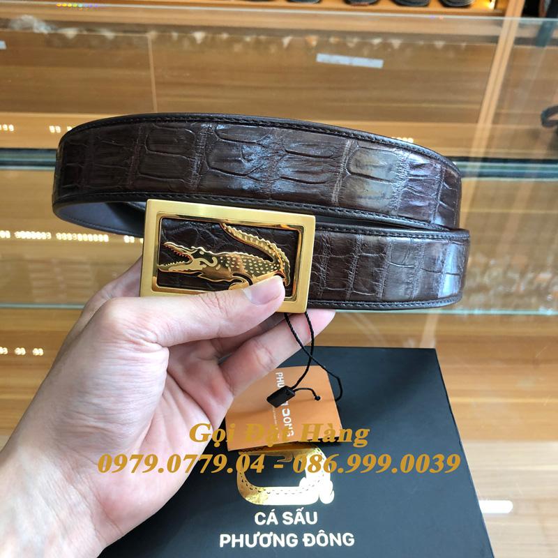 Thắt Lưng Cá Sấu Liền 4cm Đặc Biệt (Mã: 9263)