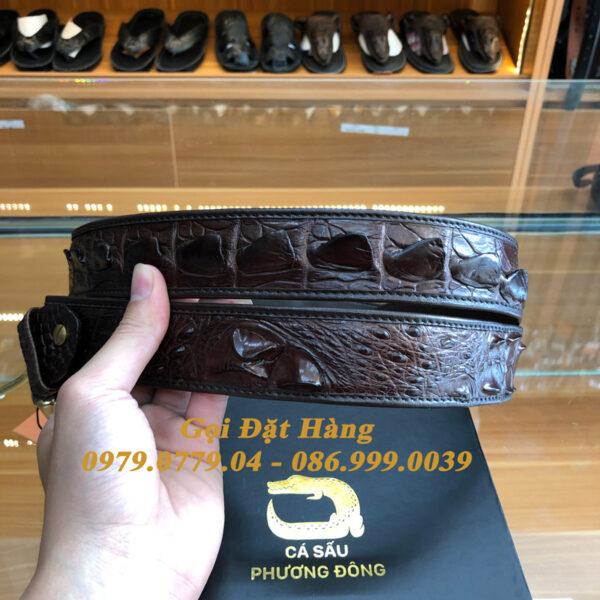 Thắt Lưng Cá Sấu Liền 4cm Đặc Biệt (Mã: 9267)