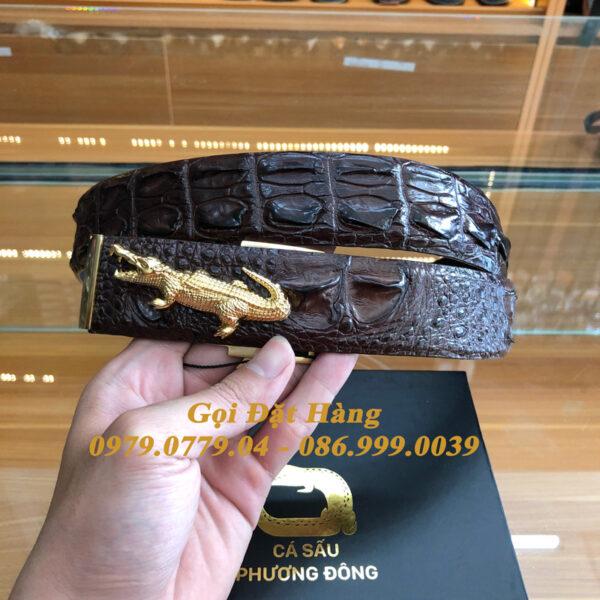 Thắt Lưng Cá Sấu Liền 4cm Đặc Biệt (Mã: 9269)
