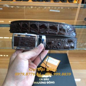 Thắt Lưng Cá Sấu Liền 4cm (Mã: 9270)