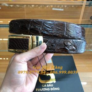 Thắt Lưng Cá Sấu Liền 4cm (Mã: 9271)