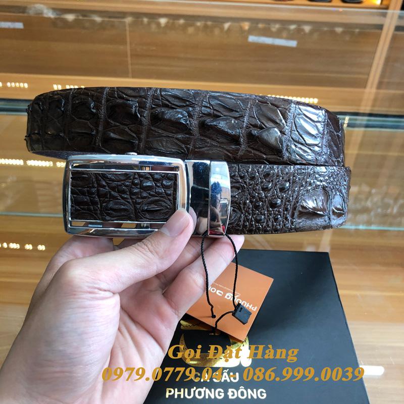 Thắt Lưng Cá Sấu Liền 4cm (Mã: 9272)