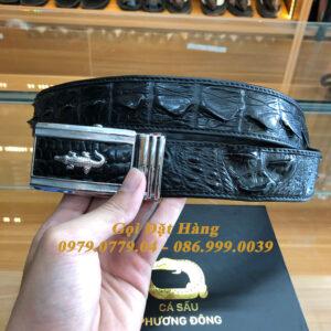 Thắt Lưng Cá Sấu Liền 4cm (Mã: 9273)