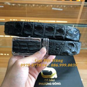 Thắt Lưng Cá Sấu Liền 4cm (Mã: 9274)