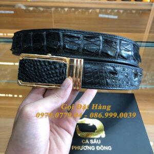 Thắt Lưng Cá Sấu Liền 4cm (Mã: 9275)