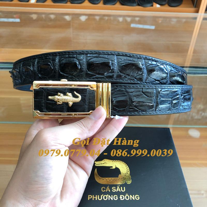Thắt Lưng Cá Sấu Nối 3.5cm (Mã: 8008)