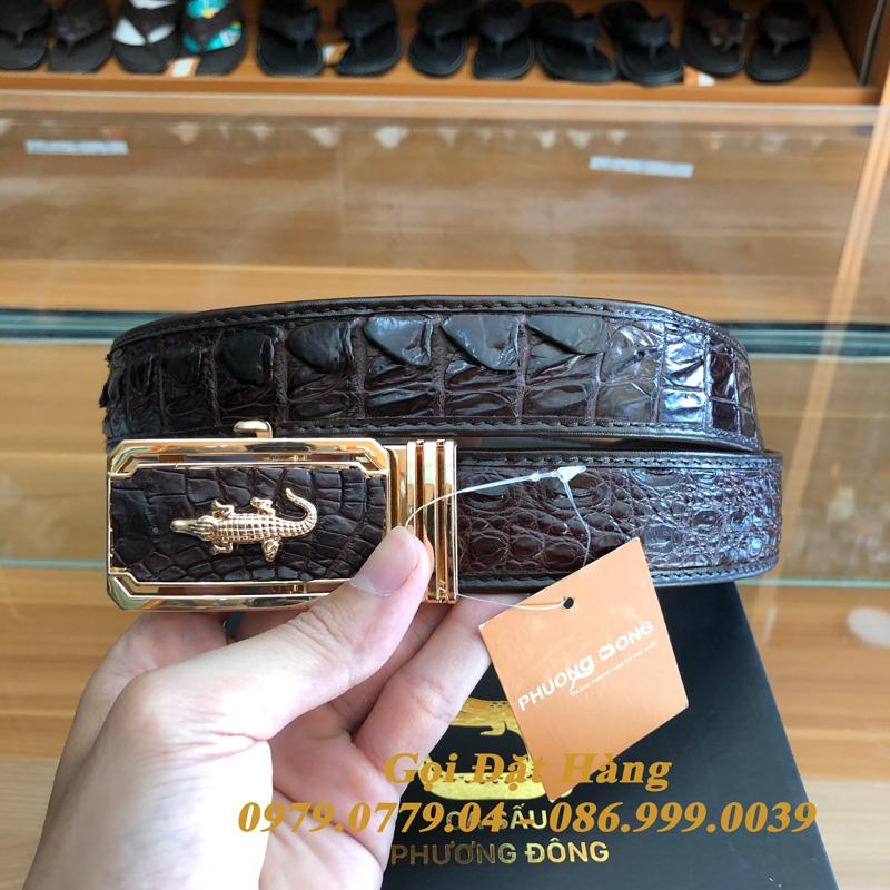 Thắt Lưng Cá Sấu Nối 3.5cm (Mã: 8009)