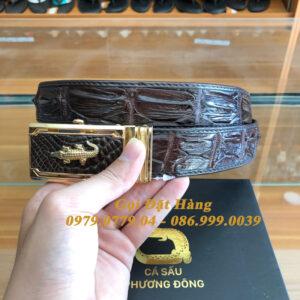Thắt Lưng Cá Sấu Nối 3.5cm (Mã: 8011)