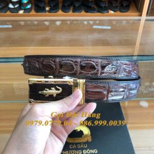 Thắt Lưng Cá Sấu Nối 3.5cm (Mã: 8012)