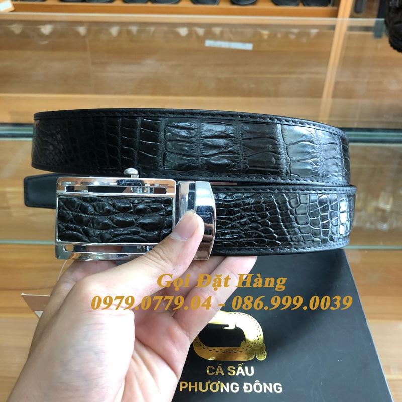 Thắt Lưng Cá Sấu Liền 4cm (Mã: 9281)