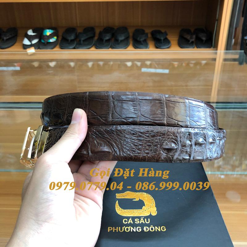 Thắt Lưng Cá Sấu Liền 3.5cm (Mã: L0151)