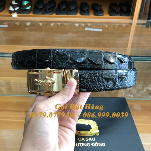 Thắt Lưng Cá Sấu Liền 3.5cm (Mã: L0154)