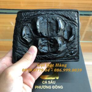 Ví Da Cá Sấu Gai Gù Lớn (2 mặt - Mã: 2009)