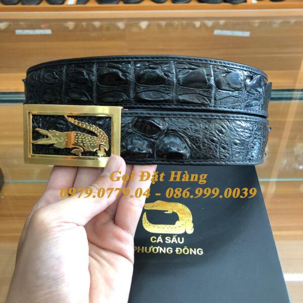Thắt Lưng Cá Sấu Liền 4cm Đặc Biệt (Mã: 9283)
