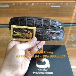 Thắt Lưng Cá Sấu Liền 4cm Đặc Biệt (Mã: 9284)