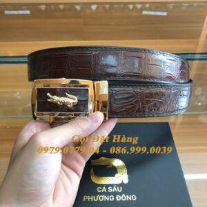 Thắt Lưng Cá Sấu Liền 4cm (Mã: 9288)