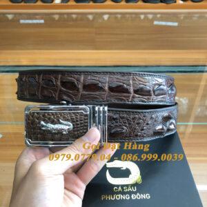 Thắt Lưng Cá Sấu Liền 4cm (Mã: 9292)