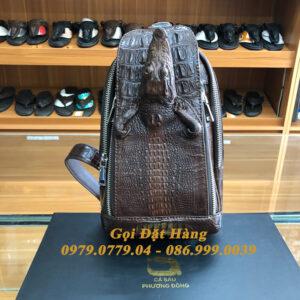 Túi Bao Tử Da Cá Sấu Có Đầu (Mã: C55)