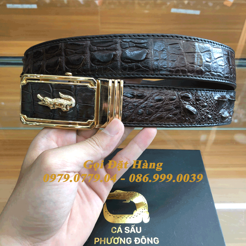 Thắt Lưng Cá Sấu Nối 4cm (Mã: N785)