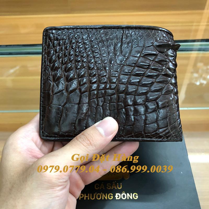 Ví Da Cá Sấu Tay (Mã: 7022)