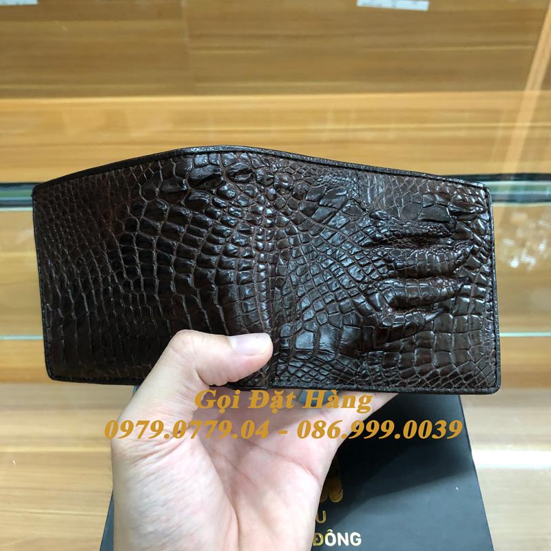 Ví Da Cá Sấu Tay (Mã: 7023)