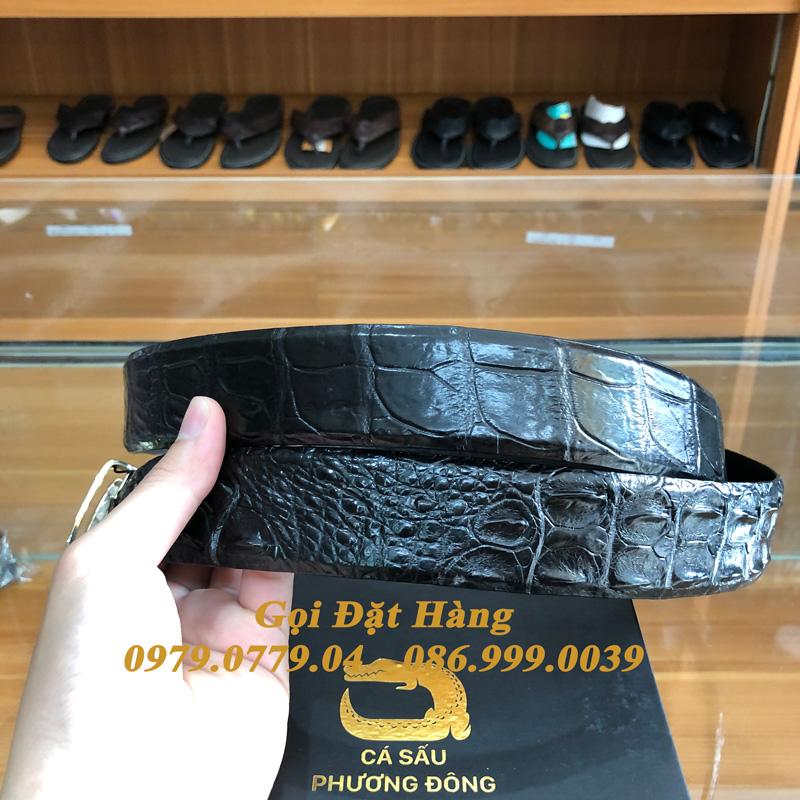 Thắt Lưng Cá Sấu Liền 4cm (Mã: 9297)