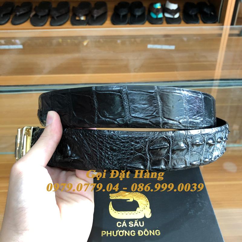 Thắt Lưng Cá Sấu Liền 4cm (Mã: 9301)