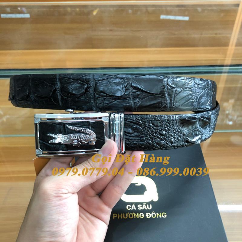 Thắt Lưng Cá Sấu Liền 3.5cm (Mã: L0160)