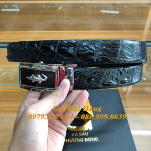 Thắt Lưng Cá Sấu Liền 3.5cm (Mã: L0161)