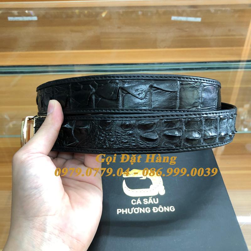 Thắt Lưng Cá Sấu Liền 3.5cm (Mã: L0162)