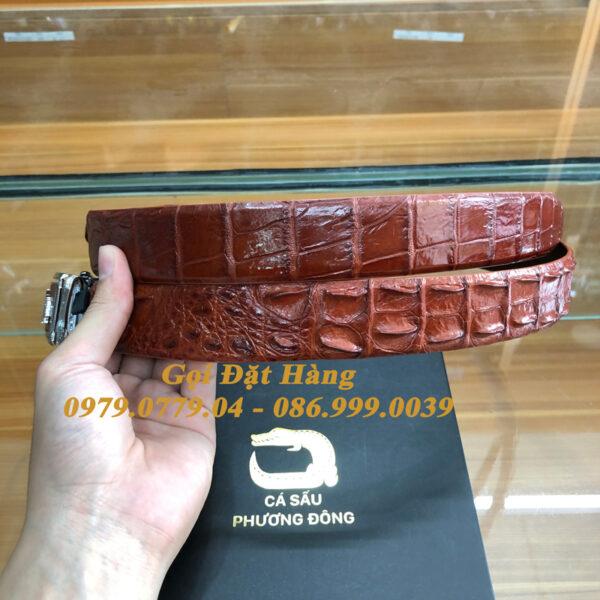Thắt Lưng Cá Sấu Liền 3.5cm (Mã: L0164)