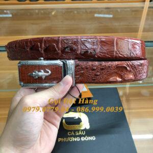 Thắt Lưng Cá Sấu Liền 3.5cm (Mã: L0165)
