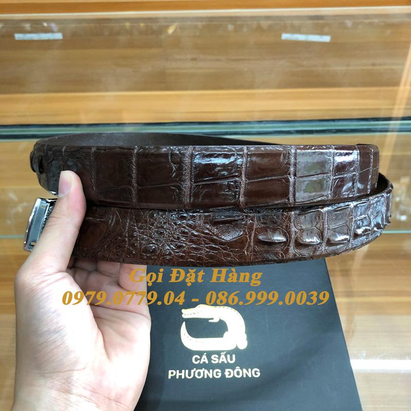 Thắt Lưng Cá Sấu Liền 3.5cm (Mã: L0169)