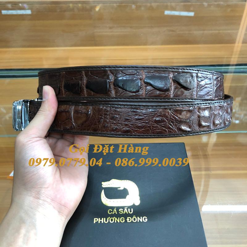 Thắt Lưng Cá Sấu Liền 3.5cm (Mã: L0170)